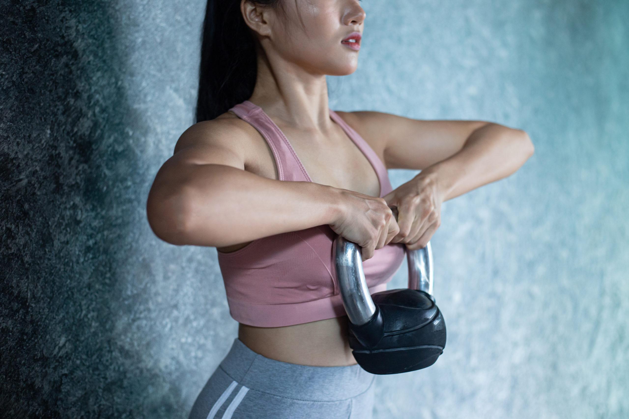 Kettlebell oefeningen voor het hele lichaam